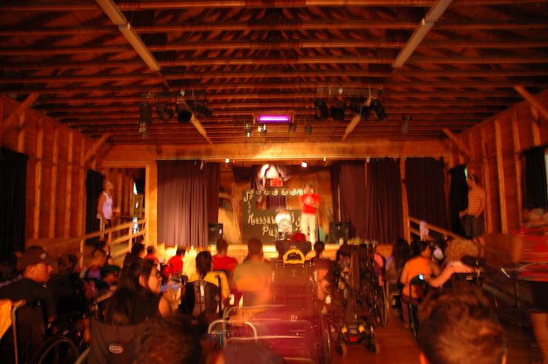 Nos projets L'auditorium du Camp Massawippi