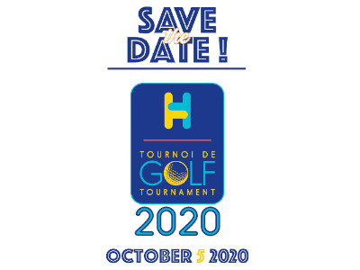 Save the Date Golf Tournament 2020